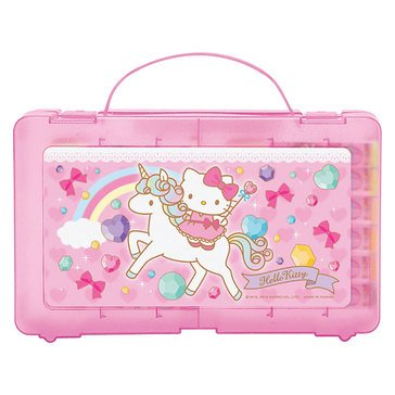 Hello Kitty Unicorn 24-Piece Coloring Marker Set