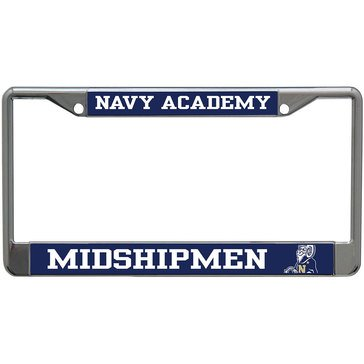 STOCKDALE NAVAY ACADEMY LICENSE FRAME Metal S/L Acry Laser Cut Style: Mega