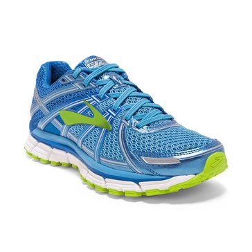 Brooks Adrenaline GTS 17 Women's Running Shoe Azure Blue/ Palace Blue/ Lime Punch