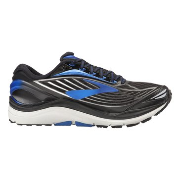 Brooks Transcend 4 Men's Basketball Shoe Black/ Electric Brooks Blue/ Silver