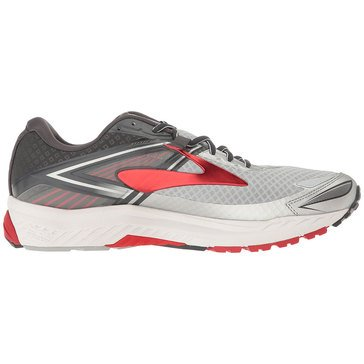 Brooks Ravenna 8 Men's Running Shoe Silver/ Anthracite/ High Risk Red