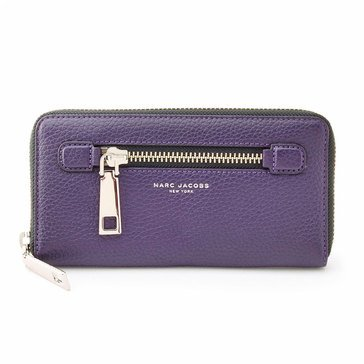 Marc Jacobs Gotham Standard Continental Wallet Nightshade