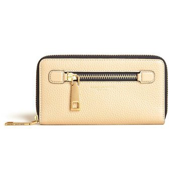 Marc Jacobs Gotham Standard Continental Wallet Sand