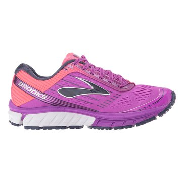 Brooks Ghost 9 Women's Running Shoe Purple Cactus Flower/ Diva Pink/ Patriot Blue