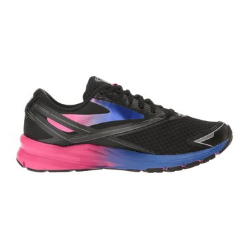 Brooks Launch 4 Women's Running Shoe Black/ Fuschia Purple/ Dazzling Blue