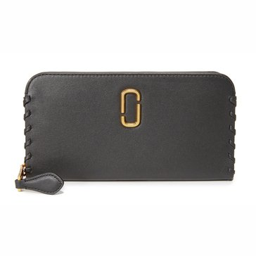 Marc Jacobs Noho Flap Continental Wallet Black