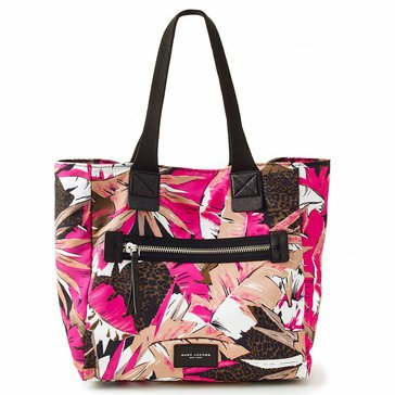Marc Jacobs Palm Printed Babybag Pink Multi