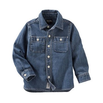 Oshkosh B'gosh Toddler Boys' Casual Woven, Denim