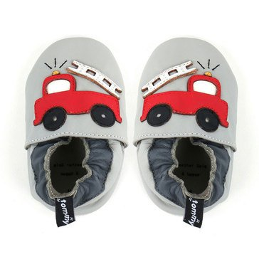 Tommy Tickle Baby Boys' Fire Truck Shoes, 12-18 Months