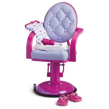 American Girl Salon Chair & Wrap Set