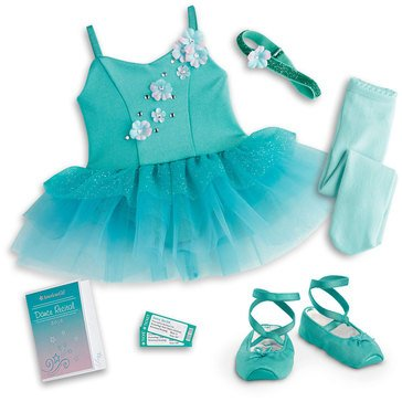 American Girl Ombre Ballet Outfit
