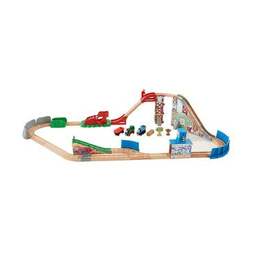 Thomas & Friends Wooden Railway Race Day Relay Set