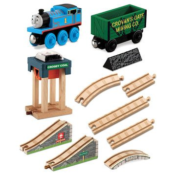 Thomas & Friends Wooden Railway Coal Hopper Figure 8 Set