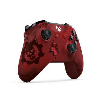 Xbox One LE Gears of War 4 Crimson Omen Wireless Controller