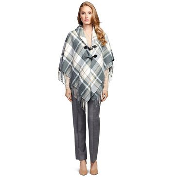 Brooks Brothers  Plaid Capelet