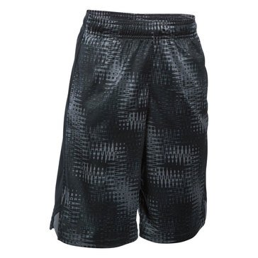 Under Armour Big Boys' Eliminator Printed Shorts, Graphite