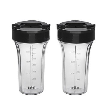 Braun Smoothie2Go Cups, 2-Pack (JB71)