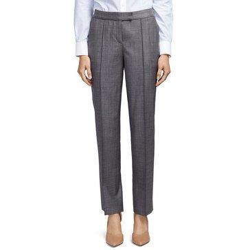 Brooks Brothers Women's Sharkskin Narrow Leg Pant