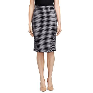 Brooks Brothers  Houndstooth Skirt