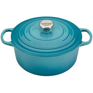 Le Creuset Round French Oven 5.5-Quart, Caribbean