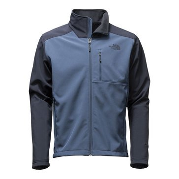 The North Face Men's Bionic 2 Black Blue Soft Shell