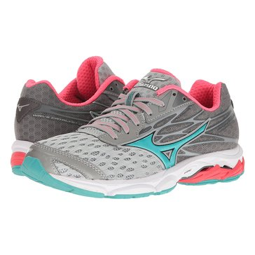 Mizuno Wave Catalyst 2 Women's Running Shoe Atomic Blue/ Green Gecko/ White