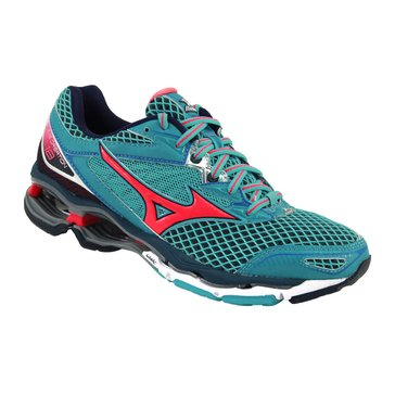 Mizuno Wave Creation 18 Women's Running Shoe Capri/ Diva Pink/ Dress Blue