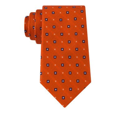 Izod Oxford Neat Tie - Orange
