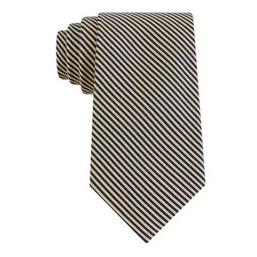 Izod School Stripe Tie - Yellow
