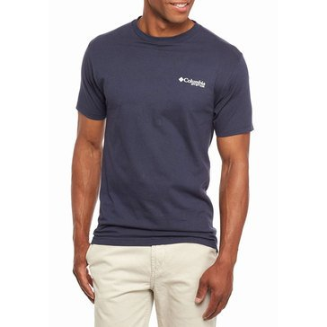 Columbia Men's Reel Expert Navy Tee