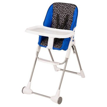 Evenflo Flat Fold High Chair, Symmetry Dot