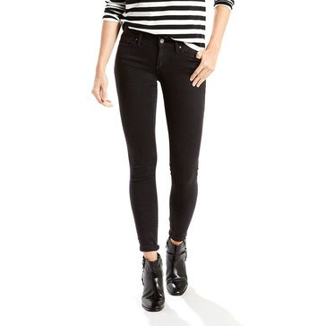 Levi's Women's 711 Skinny Jeans Soft Black 30