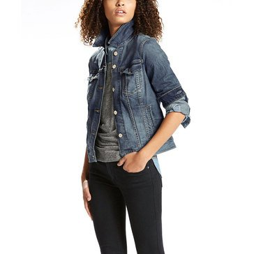 Levi's Women's Classic Trucker Jean Jacket Belle Blue