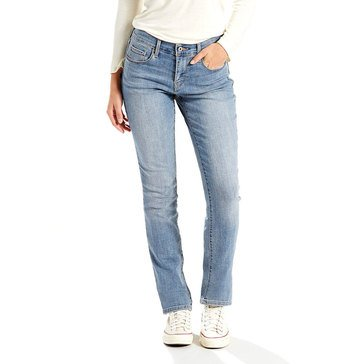 Levi's Women's 505 Straight Leg Jeans Ambiance 30