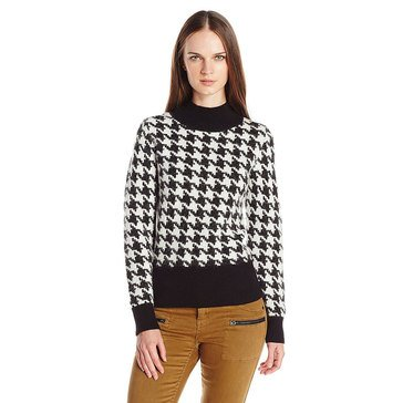 Pendleton Houndstooth Pullover Sweater