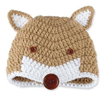 Mudpie Crochet Fox Hat