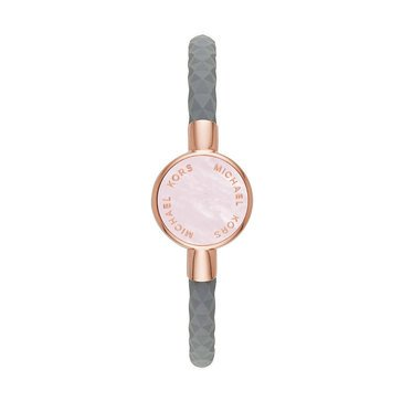 Michael Kors Access Silicone Tracker Grey and Rose Watch