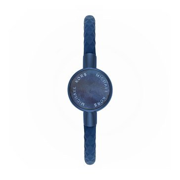 Michael Kors Access Silicone Tracker Blue and Blue Ion Plated Watch