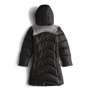 The North Face Girls' Elisa Down Parka, TNF Black