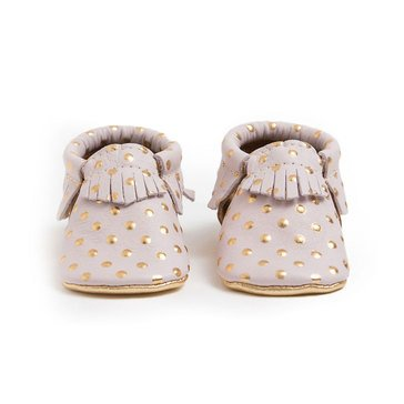 Freshly Picked Moccasins, Heirloom In Blush - Size 3
