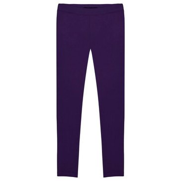 French Toast Toddler Girls' Solid Leggings, Purple