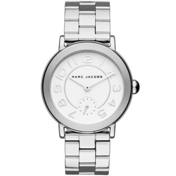 Marc Jacobs Women's Classic Riley Stainless Steel Bracelet Watch 36mm