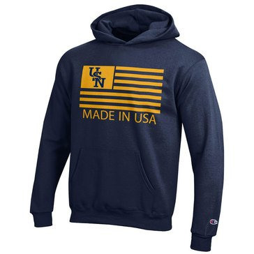 Champion Boys' Youth USN Flag Powerblend Hoodie