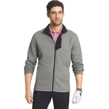 Izod Full Zip Performx Shaker Fleece Jacket