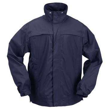 5.11 Tactical Men's Tac Dry Rain Shell in Navy