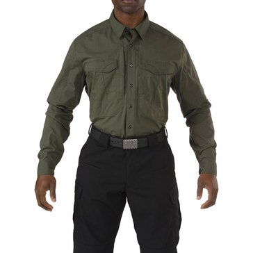 5.11 Tactical Men's Stryke Long Sleeve Woven Shirt in Green