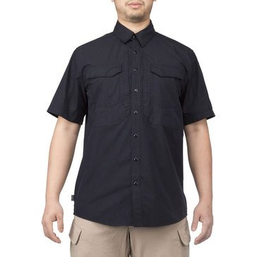 5.11 Tactical Men's Stryke Short Sleeve Woven Shirt in Black