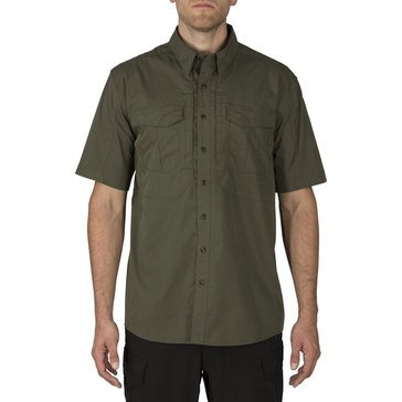 5.11 Tactical Men's Stryke Short Sleeve Woven Shirt in Green