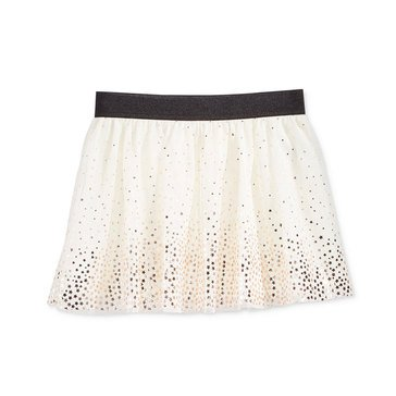 Epic Threads Little Girls' Foil Star Tulle Skirt