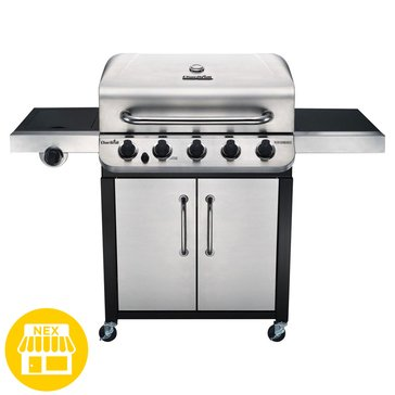 Char-Broil Performance Series 5-Burner Cabinet Gas Grill w/ Sideburner